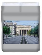 30th Street Station From Jfk Blvd Duvet Cover