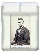 Abraham Lincoln (1809-1865) Duvet Cover