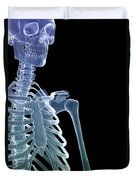 Bones Of The Upper Body Duvet Cover