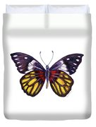 31 Delias Henningia Butterfly Duvet Cover