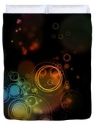 Abstract Background Duvet Cover