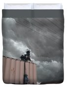 Nebraska Panhandle Supercells Duvet Cover