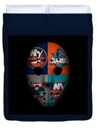 New York Islanders Duvet Cover
