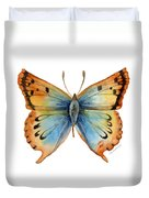 33 Opal Copper Butterfly Duvet Cover
