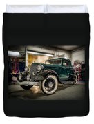 '33 Plymouth Duvet Cover