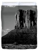 Rock Formations On A Landscape Duvet Cover