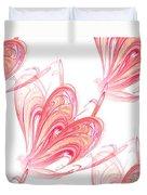Seamless Background Fractal Duvet Cover