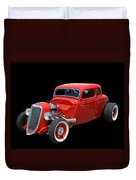 34 Ford Coupe Duvet Cover
