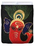 34 Ganadhakshya Ganesha Duvet Cover
