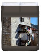 Views Of Dubrovnik Croatia Duvet Cover