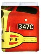 347 C  Up Close Duvet Cover