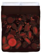 Red Blood Cells Duvet Cover