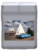 Route 66 - Wigwam Motel Duvet Cover
