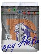 Denver Broncos Duvet Cover