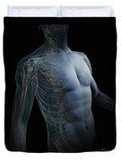 Human Anatomy Duvet Cover