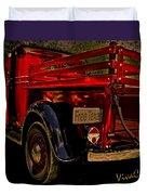 37 Ranch Truck Duvet Cover