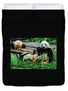 3722-panda -  Acanthus Sl Duvet Cover