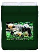 3722-panda -  Plein Air 1 Sl Duvet Cover
