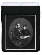 Abraham Lincoln (1809-1865) Duvet Cover