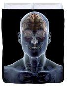 Human Brain Duvet Cover