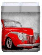 39 Ford Duvet Cover