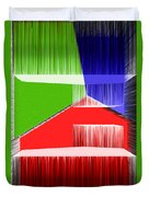 3d Abstract 3 Duvet Cover by Angelina Vick
