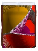 3d Abstract 5 Duvet Cover by Angelina Vick