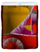 3d Abstract 6 Duvet Cover by Angelina Vick