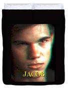 3d Jacob Duvet Cover