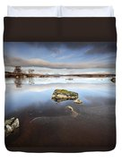 Lochan Na H-achlaise Duvet Cover by Grant Glendinning