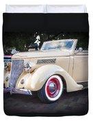 1936 Ford Cabriolet  Duvet Cover