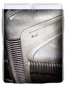 1940 Nash Sedan Grille Duvet Cover