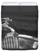 1942 Packard Darrin Convertible Victoria Hood Ornament Duvet Cover