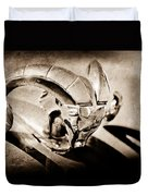 1952 Dodge Ram Hood Ornament Duvet Cover