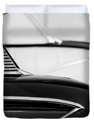 1958 Chevrolet Belair Abstract Duvet Cover