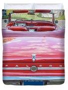 1963 Ford Falcon Sprint Convertible  Duvet Cover