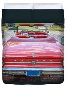 1963 Ford Falcon Sprint Convertible  Duvet Cover