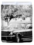 1965 Shelby Prototype Ford Mustang  Duvet Cover by Jill Reger