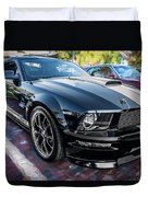 2007 Ford Mustang Shelby Gt Painted  Duvet Cover