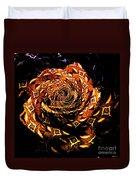 4 4 Echo Rose Duvet Cover
