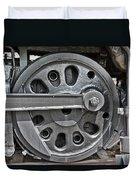 4-8-8-4 Wheel Arrangement Duvet Cover
