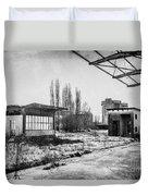 Abandoned Sugarmill Duvet Cover