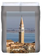 Aerial View Of Venice Duvet Cover