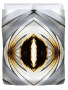African Moon Abstract Duvet Cover