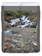 Alaskan Waterfall Duvet Cover