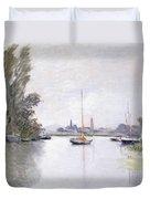 Argenteuil Duvet Cover by Claude Monet