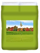 Autumn Golf Duvet Cover