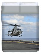 Aviation Boatswains Mate Directs Duvet Cover
