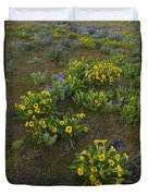 Balsamroot Duvet Cover