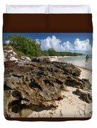 Beach At Coco Cay Duvet Cover